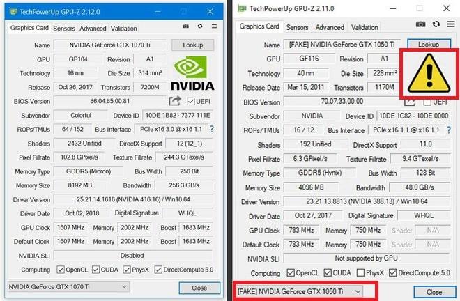 Hình ảnh optimized faxs của Cách kiểm tra card màn hình NVIDIA giả hay thật cực chính xác bằng GPU-Z tại HieuMobile