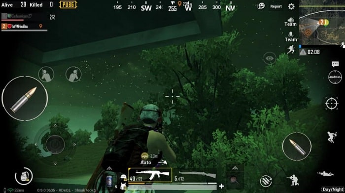 Cách chơi chế độ Night Mode trong PUBG Mobile 0.9 1