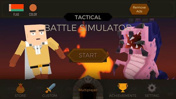 Hình ảnh optimized hskw của Tải Tactical Battle Simulator: Game nhập vai dàn trận phong cách khối vuông tại HieuMobile