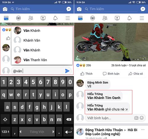Hình ảnh optimized lnmx của Cách tag để nhắc một người vào bình luận Facebook trên điện thoại và máy tính tại HieuMobile