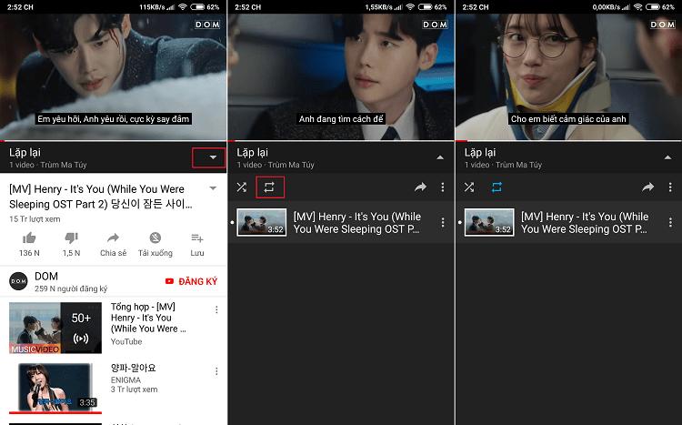 Hình ảnh optimized lxkr của Cách tự động lặp lại video đang xem trên Youtube nhiều lần tại HieuMobile