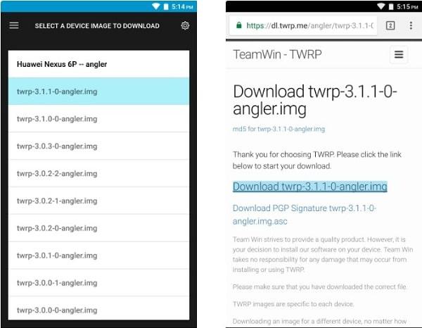 Hình ảnh optimized pkkl của Tải TWRP: Công cụ hỗ trợ cài Recovery Mod cho Android cực nhanh tại HieuMobile