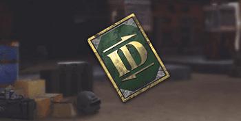 Hình ảnh Rename Card - vật phẩm chuyên dùng để đổi tên nhân vật trong game PUBG Mobile
