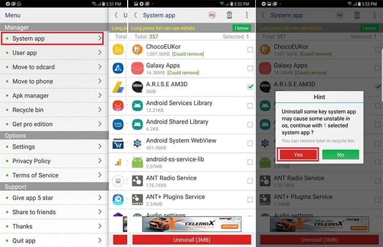 Hình ảnh optimized qh0r của Cách gỡ cài đặt mọi ứng dụng kể cả ứng dụng hệ thống trên Android tại HieuMobile
