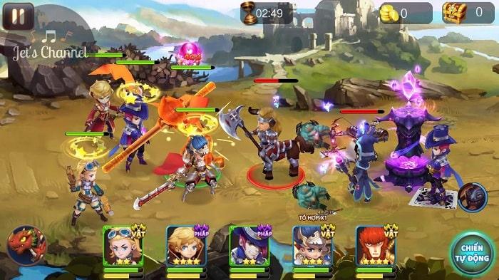 Hình ảnh optimized tlrh của Tải game Truyền Kì Hiệp Sĩ: Kết hợp đấu trường RPG và Moba đỉnh cao tại HieuMobile