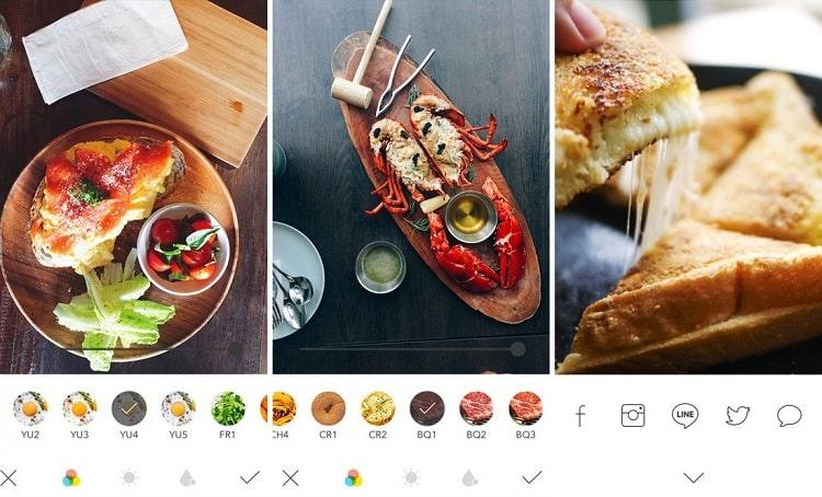 Hình ảnh optimized tmil của Tải Foodie: Ứng dụng chuyên chụp ảnh đồ ăn, đồ uống cực đẹp tại HieuMobile