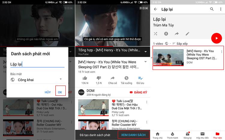 Hình ảnh optimized wywc của Cách tự động lặp lại video đang xem trên Youtube nhiều lần tại HieuMobile