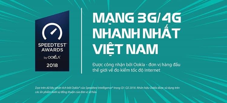 Viettel được đánh giá là có tốc độ mạng 3G, 4G nhanh nhất tại Việt Nam
