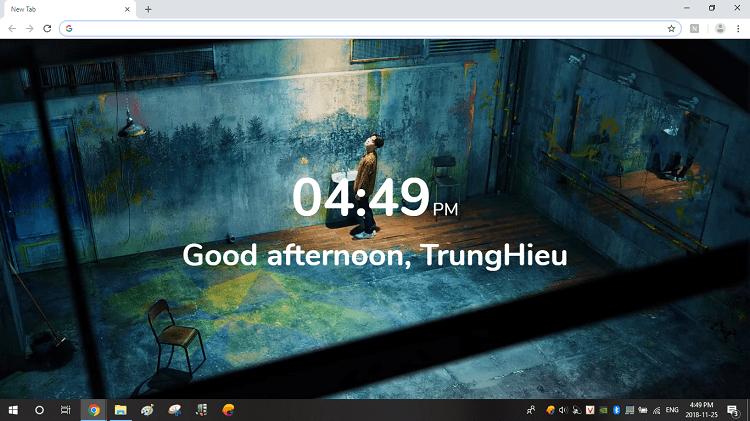 Hình ảnh optimized 0fwr của Mẹo hiển thị video khi mở tab mới cho trình duyệt Chrome trên máy tính tại HieuMobile
