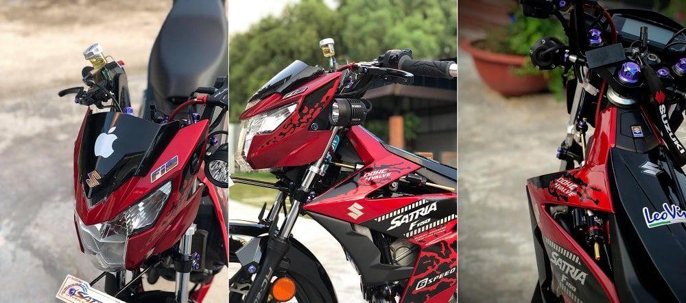 Hình ảnh optimized 0mad 1000x443 của Satria F150 2019 đen đỏ lên full đồ chơi kiểng khiến ai cũng choáng ngợp tại HieuMobile