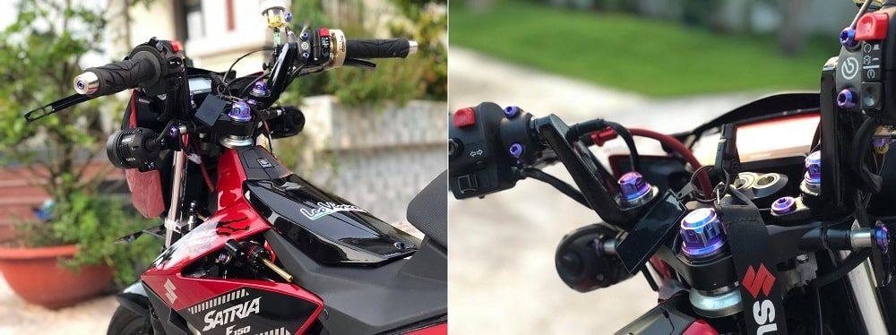 Hình ảnh optimized ae4k 1000x374 của Satria F150 2019 đen đỏ lên full đồ chơi kiểng khiến ai cũng choáng ngợp tại HieuMobile