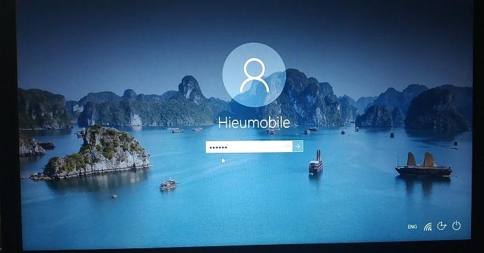 Tính năng khóa màn hình bằng mật khẩu đang có trên các máy tính hệ điều hành Windows