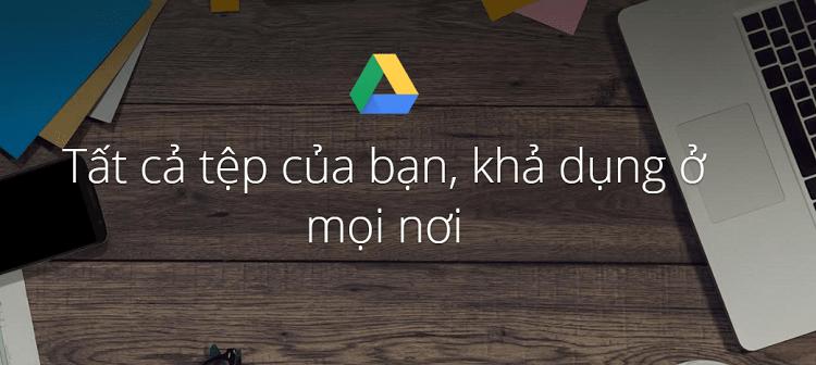 Sử dụng dịch vụ Google Drive bao gồm tải lên, chia sẻ và quản lý các tập tin ngay trên một thư mục của máy tính