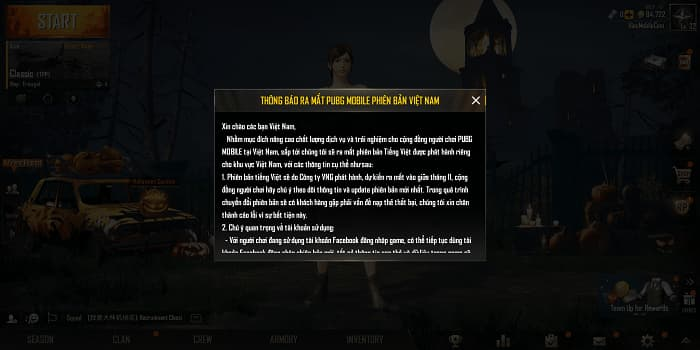 Hình ảnh optimized klna 1 của Cách chuyển tài khoản PUBG Mobile Quốc Tế để chơi phiên bản Việt Nam tại HieuMobile