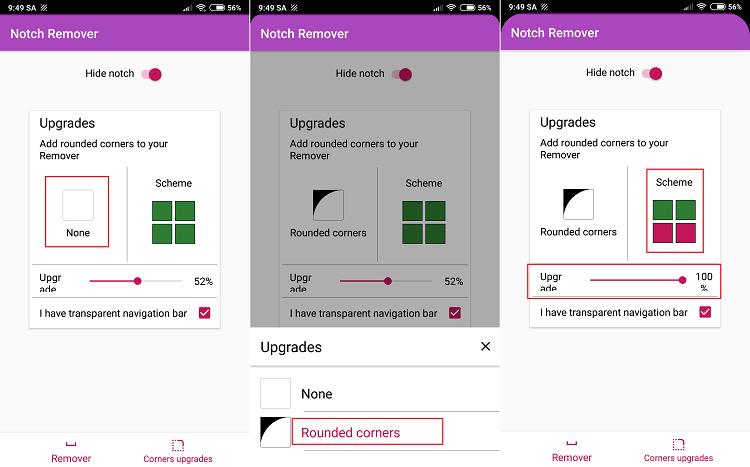 Hình ảnh optimized mmji của Tải Notch Remover: Ẩn thiết kế tai thỏ và bo cong các góc màn hình tại HieuMobile