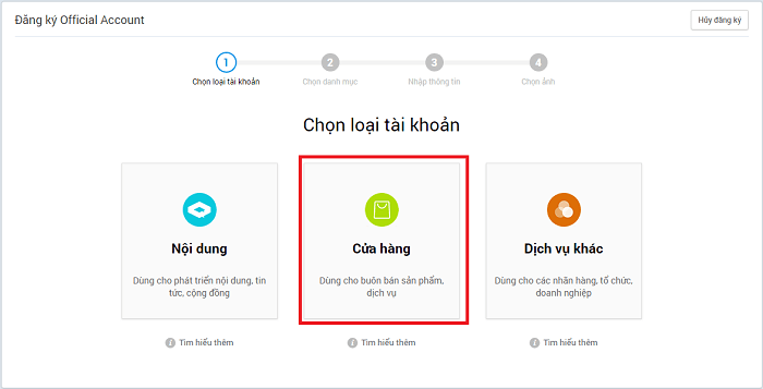 Hình ảnh optimized muhi của Hướng dẫn tạo Zalo Page để làm shop bán hàng online cực đơn giản tại HieuMobile