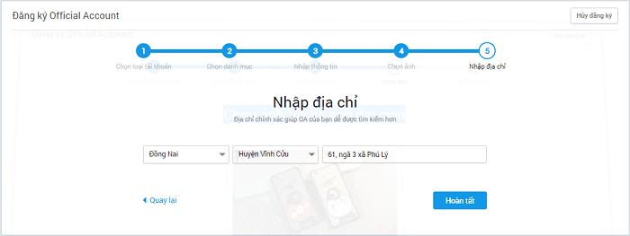 Hình ảnh optimized nsqv của Hướng dẫn tạo Zalo Page để làm shop bán hàng online cực đơn giản tại HieuMobile