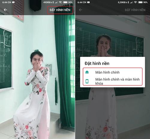 Hình ảnh optimized pbsl của Hướng dẫn cài đặt video trên Tik Tok làm hình nền điện thoại độc đáo tại HieuMobile