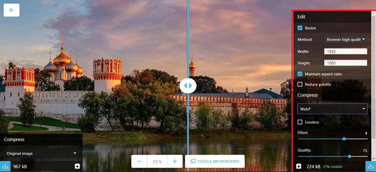 Hình ảnh optimized tixh của Squoosh: Công cụ nén ảnh của Google, có thể đổi định dạng WebP tại HieuMobile