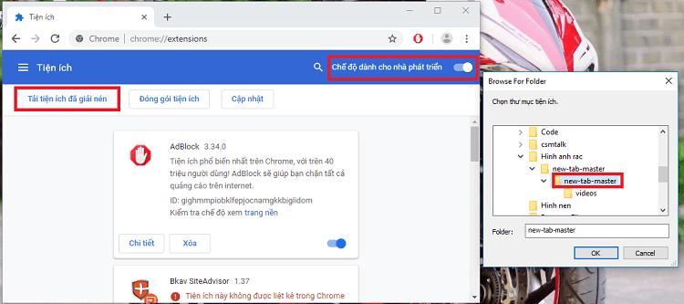 Hình ảnh optimized uyq8 của Mẹo hiển thị video khi mở tab mới cho trình duyệt Chrome trên máy tính tại HieuMobile