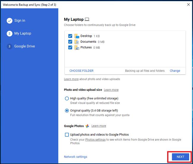 Hình ảnh optimized wfvb của Biến Google Drive thành một thư mục trên máy tính để sử dụng nhanh hơn tại HieuMobile