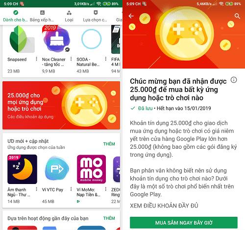 Hình ảnh optimized 4uuj của Hướng dẫn nhận 25.000đ miễn phí từ Google Play để mua ứng dụng, trò chơi tại HieuMobile
