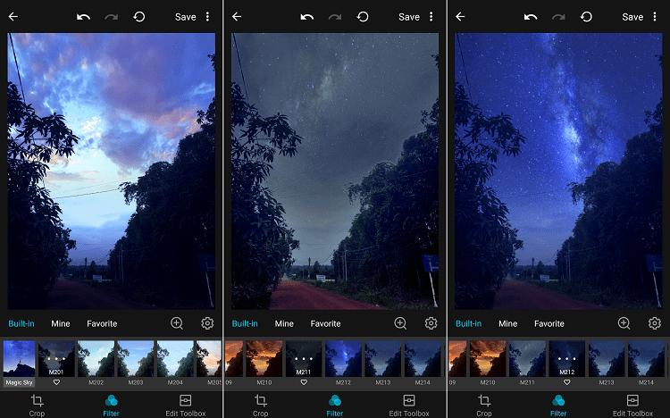Hình ảnh optimized 8gi3 của Cách ghép ảnh bầu trời đầy sao cực nhanh trên điện thoại bằng ứng dụng MIX tại HieuMobile