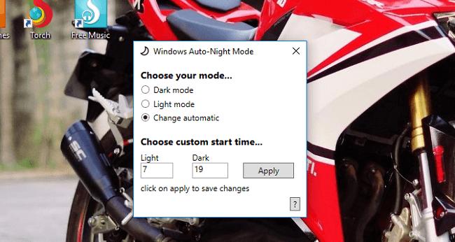 Hình ảnh optimized d69m của Cách hẹn giờ tự động bật chế độ ban đêm Dark Mode cho PC Win 10 tại HieuMobile