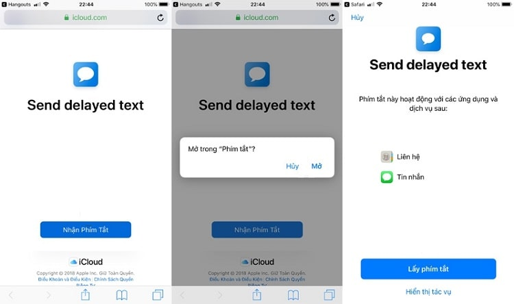 Hình ảnh optimized flwq của Hẹn giờ gửi tin nhắn đến nhiều số điện thoại trên iPhone bằng Siri Shortcuts tại HieuMobile