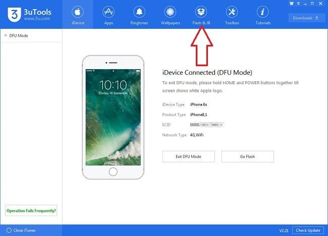 Hình ảnh optimized foil của Cách khôi phục iPhone iPad khi vô hiệu hóa bởi khóa màn hình bằng 3uTools tại HieuMobile