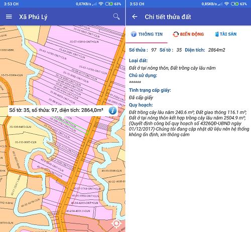 Hình ảnh optimized goly của Cách tra cứu thông tin diện tích, tình trạng giao dịch đất đai ở Đồng Nai tại HieuMobile