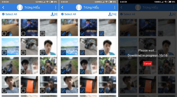 Hình ảnh optimized ipwf của Cách tải toàn bộ hình ảnh đã đăng trên Facebook về điện thoại nhanh nhất tại HieuMobile