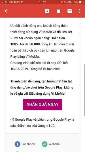 Hình ảnh optimized prw7 của Hướng dẫn chọn sử dụng ví MoMo để thanh toán trong Google Play tại HieuMobile