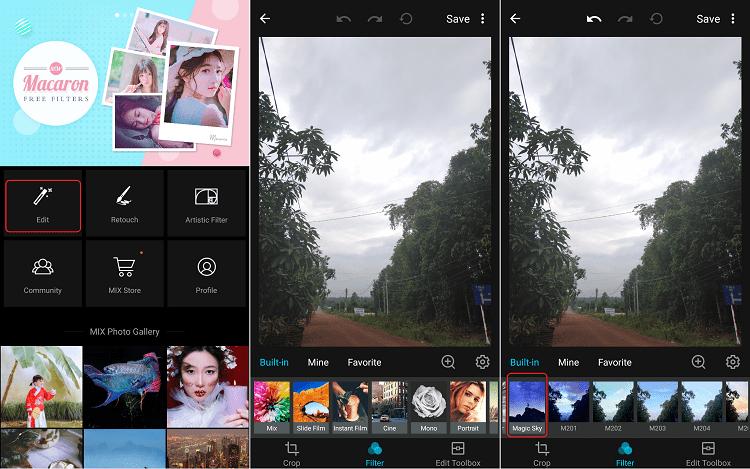Hình ảnh optimized ti8z của Cách ghép ảnh bầu trời đầy sao cực nhanh trên điện thoại bằng ứng dụng MIX tại HieuMobile