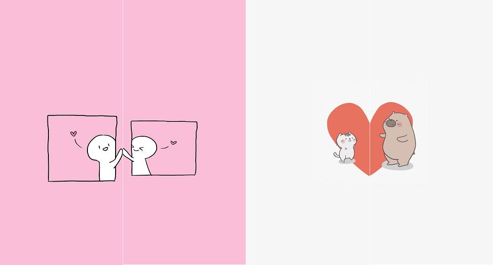 Hình ảnh optimized uizd 1000x537 của Chia sẻ hình nền đôi mèo cực dễ thương dành cho những cặp đang yêu nhau tại HieuMobile