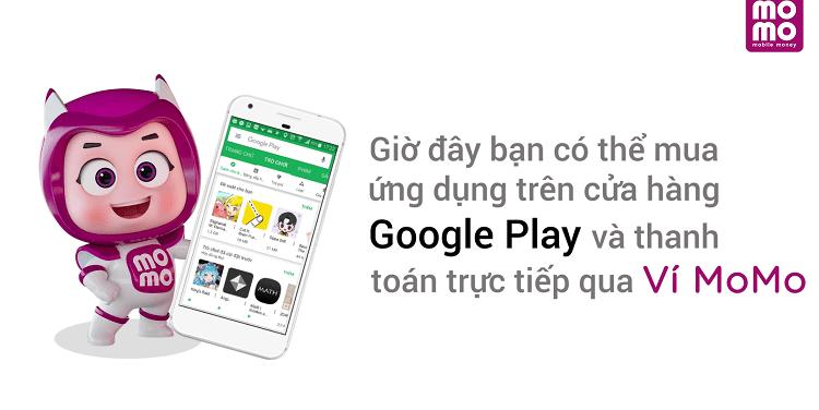 Hình ảnh optimized wtks của Hướng dẫn chọn sử dụng ví MoMo để thanh toán trong Google Play tại HieuMobile