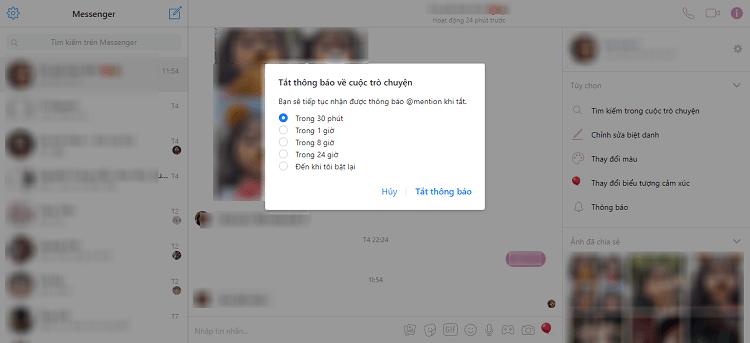 Hình ảnh optimized 6f8y của Tắt âm thanh thông báo tin nhắn, cuộc gọi từ Facebook và Messenger tại HieuMobile