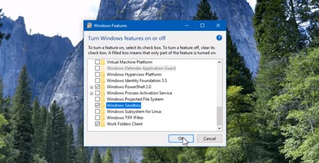 Hình ảnh optimized atxu của Tạo máy tính ảo để thử virus và mã độc bằng Windows Sandbox cho Windows 10 tại HieuMobile