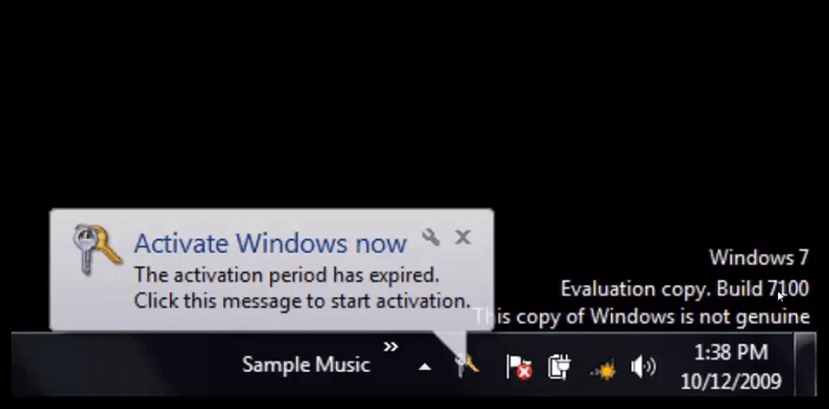 Hình ảnh optimized bwub của Cách tự sửa lỗi mất bản quyền Windows 7 bởi sự cố kích hoạt KMS tại HieuMobile
