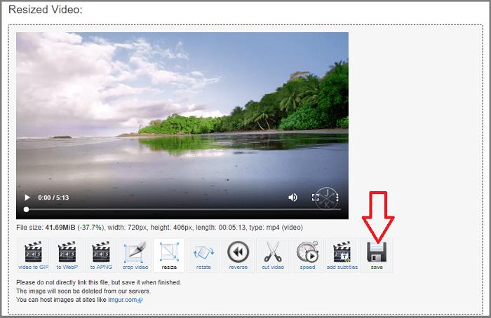 Hình ảnh optimized bzl8 của Cắt thời lượng, khu vực và thay đổi kích thước video không cần phần mềm tại HieuMobile
