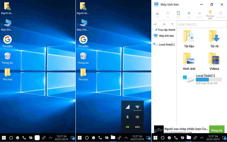 Hình ảnh optimized fvqg của Cách đổi giao diện Android thành Windows 10 y chang, đầy đủ tính năng tại HieuMobile