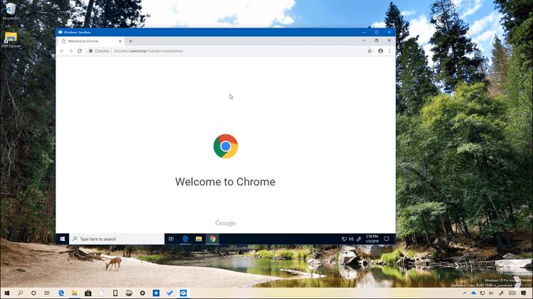 Hình ảnh optimized h5sn của Tạo máy tính ảo để thử virus và mã độc bằng Windows Sandbox cho Windows 10 tại HieuMobile