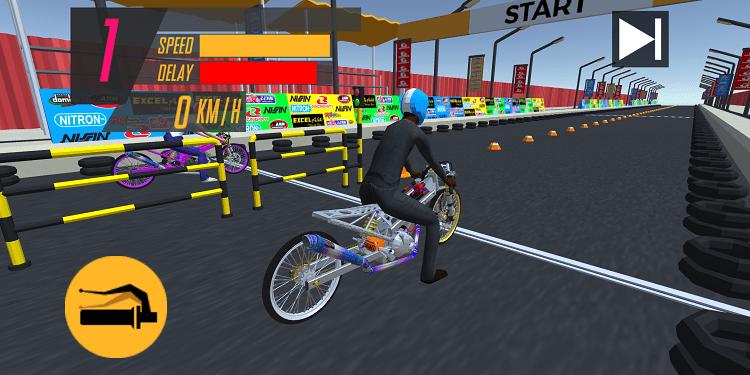Hình ảnh optimized kgr6 của Tải Drag King: Game đua xe Drag y như thật cho dân Racing Boy tại HieuMobile