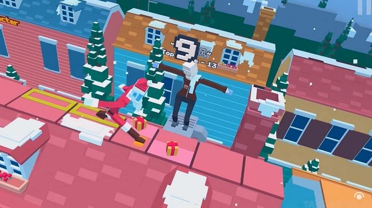 Game Steppy Pants trong bản đồ tuyết