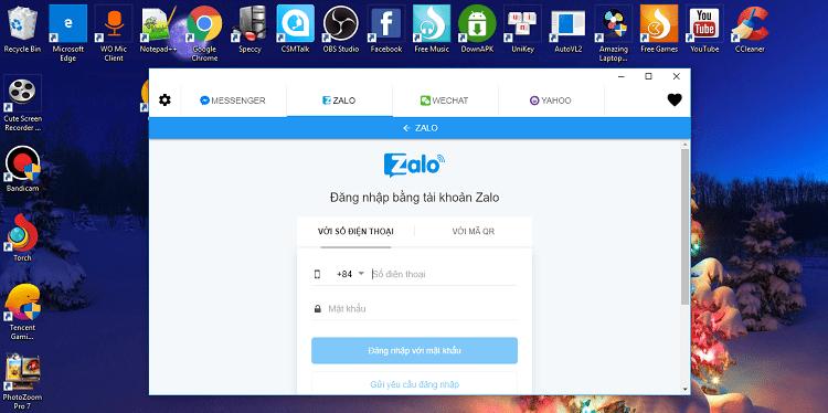 Hình ảnh optimized l0hm của Cách sử dụng Zalo, Messenger, Skype... nhanh trên một tab Chrome duy nhất tại HieuMobile