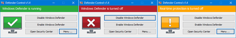 Hình ảnh optimized minh của Tải Defender Control: Kích hoạt và vô hiệu hóa Windows Defender cực nhanh tại HieuMobile