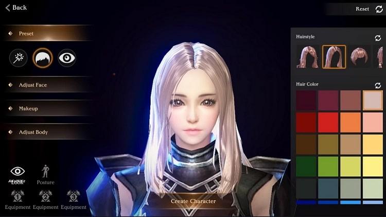 Game Talion cho phép người chơi tùy ý thay đổi, chỉnh sửa khuôn mặt cho nhân vật của mình