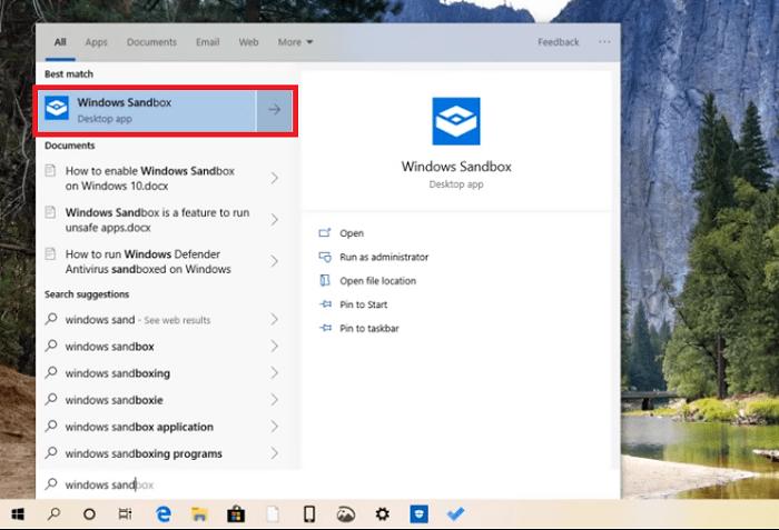 Hình ảnh optimized q0q2 của Tạo máy tính ảo để thử virus và mã độc bằng Windows Sandbox cho Windows 10 tại HieuMobile
