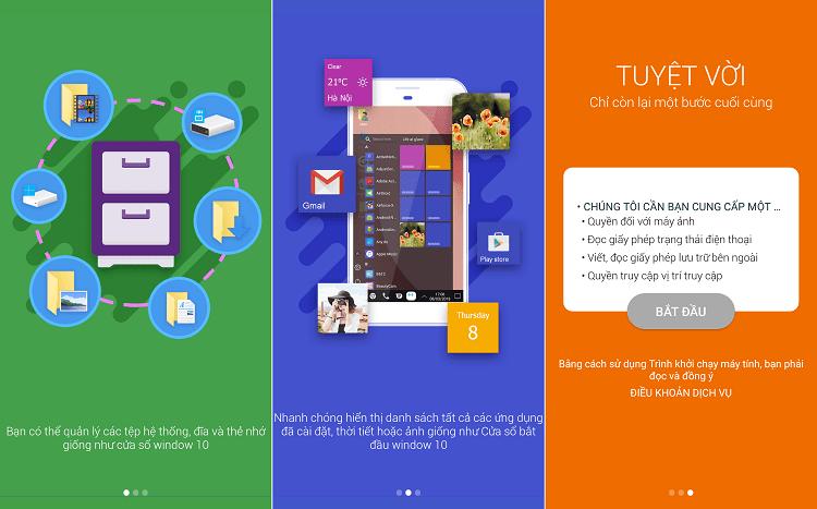 Hình ảnh optimized qwd1 của Cách đổi giao diện Android thành Windows 10 y chang, đầy đủ tính năng tại HieuMobile