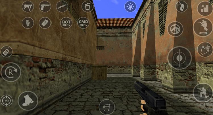 Hình ảnh optimized sx0n của Hướng dẫn cài đặt game Half Life (Counter-Strike) cho điện thoại Android tại HieuMobile